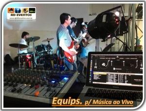 Equipamentos para Música ao Vivo - DJ - AD Eventos