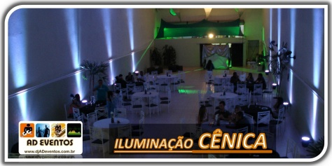 Iluminação Cênica - DJ - AD Eventos
