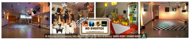 Salão de Festas na Mooca
